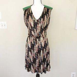 SALONI Jersey Printed Skater Dress